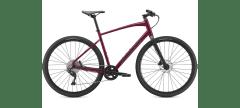 Bicicleta SPECIALIZED Sirrus X 3.0 - Gloss Raspberry/Tarmac Black/Satin Black Reflective S