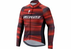 Jacheta SPECIALIZED Therminal SL Team Expert LS - Black/Red L