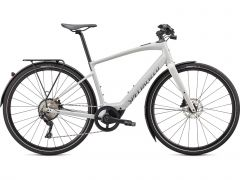 Bicicleta SPECIALIZED Turbo Vado SL 4.0 EQ - Dove Gray/Acid Lava/Cast Black Reflective L