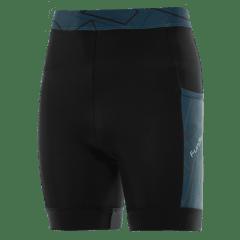 Pantaloni alergare FUNKIER Paduli-2 - Negru/Albastru M