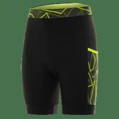 Pantaloni alergare FUNKIER Paduli-2 - Negru/Galben M