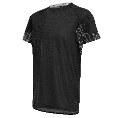 Tricou alergare FUNKIER Cassoti - Negru/Gri XL