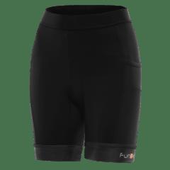 Pantaloni scurti alergare FUNKIER Marsala - Negru XS