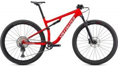 Bicicleta SPECIALIZED Epic Comp - Gloss Flo Red w/Red Ghost Pearl/Mettalic White Silver XS