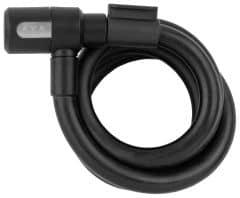 Incuietoare cablu AXA Newton 120/15 antracit