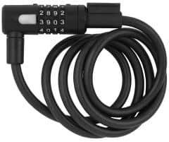Incuietoare cablu AXA Newton 150/10 cu cifru antracit