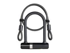 Incuietoare U AXA Newton UL MINI 140/16 + cablu 100*10mm - Negru