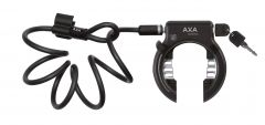 Incuietoare roata AXA SOLID PLUS + PI Newton negru standard