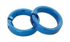 Inel blocare manson CONTEC G-ring Albastru