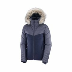 Geaca schi SALOMON Warm Ambition JKT W - Bleumarin XL