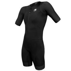 Costum triathlon FUNKIER Levico Men Pro - Negru 2XL