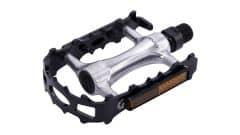 Pedale CONTEC CP-043 aluminiu - Negru