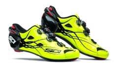 Pantofi ciclism SIDI Shot Carbon Road galben fluo 43.5