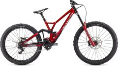 Bicicleta SPECIALIZED Demo Race - Gloss Brushed/Red Tint/White S2