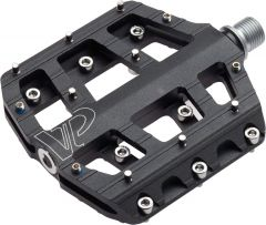 Pedale CROSSER VP-015 rulmenti - aluminiu - negru