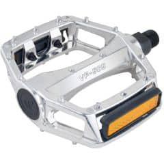 Pedale CROSSER VP-565 - aluminiu - argintiu