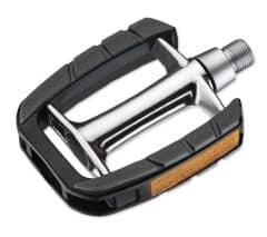 Pedale CROSSER VP-613 - aluminiu - argintiu/negru
