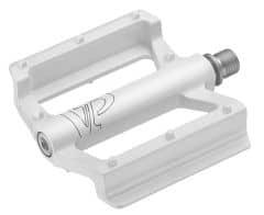 Pedale CROSSER VP-69N - aluminiu - alb
