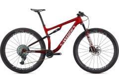 Bicicleta SPECIALIZED S-Works Epic- Gloss Red/Tarmac Black/White w/Gold S