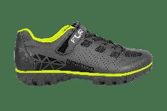 Pantofi ciclism FLR Rexston Mtb - Negru/Galben neon