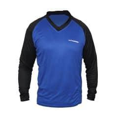 Tricou CROSSER MTB - Albastru/Negru