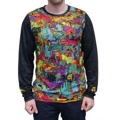 Tricou SPECIALIZED All Mountain Monster LS - C-Design