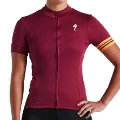 Tricou SPECIALIZED Women's RBX Sport Logo SS - Ruby Wine