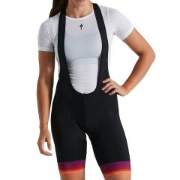 Pantaloni cu bretele SPECIALIZED Women's RBX Comp - Ruby Wine