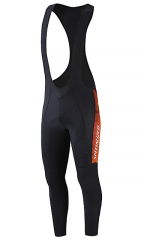 Pantaloni cu bretele SPECIALIZED Therminal SL Team Expert - Rocket Red/Black Faze