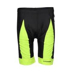 Pantaloni scurti CROSSER CW-17-106 cu bazon - Negru/Albastru