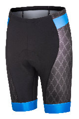 Pantaloni scurti FUNKIER Aosta Pro cu bazon gel - Albastru
