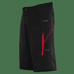 Pantaloni scurti FUNKIER Lucca Pro Men - Black/Red