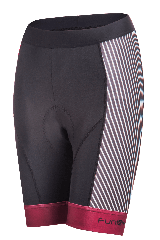 Pantaloni scurti FUNKIER Ortona Pro cu bazon - Rosu inchis