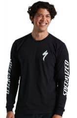 Bluza SPECIALIZED Men's Long Sleeve T-Shirt - Black