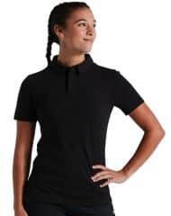 Tricou polo SPECIALIZED Women's Legacy - Black