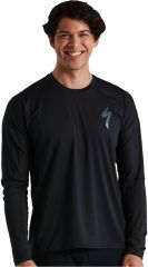 Tricou SPECIALIZED Men's Trail LS - Black