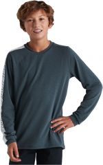 Tricou SPECIALIZED Youth Trail LS - Cast Battleship