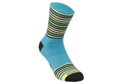 Sosete SPECIALIZED Full Stripe - Nice Blue/Black/Yellow