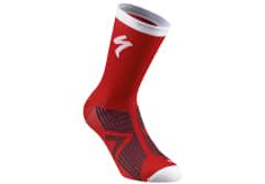 Sosete SPECIALIZED SL Elite Winter - Red/White