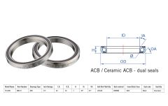 "Rulment cuvete FSA TH-070E ACB 45x45 1.5"" dualS MR170"