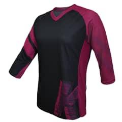 Tricou FUNKIER Dolomiti-W Enduro Women 3/4 sleeve - Purple