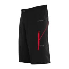 Pantaloni scurti FUNKIER Lucca Pro Kids - Black/Red
