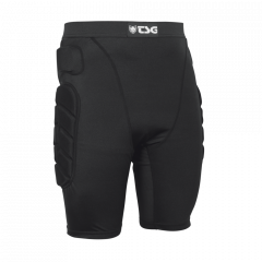 Pantaloni cu protectii TSG Crash Pant All Terrain - Black