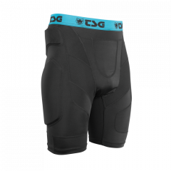 Pantaloni cu protectii TSG Crash Pant A - Black