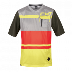 Tricou TSG SP5 S/S - Red Limeyellow