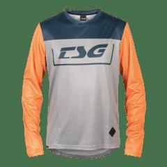 Tricou TSG Breeze L/S - Blue Orange