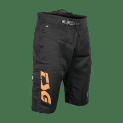Pantaloni scurti TSG Worx - Black Orange