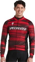 Jacheta softshell SPECIALIZED Men's Factory Racing RBX Comb - Black/Red